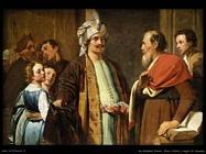 de grebber pieter Elisha rifiuta i regali di Naaman