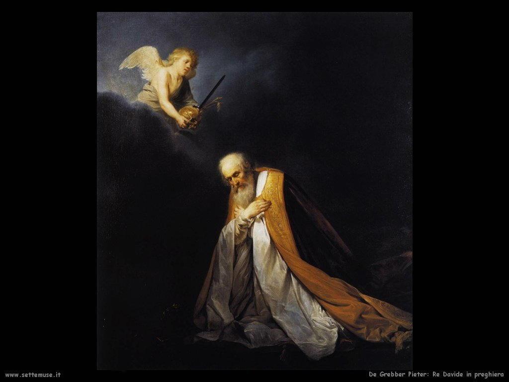 de grebber pieter Re Davide in preghiera
