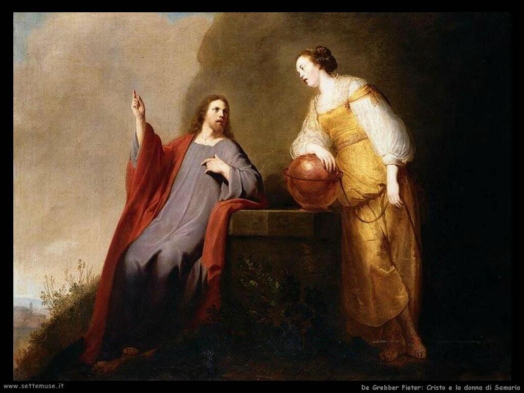 de grebber pieter Cristo e la samaritana