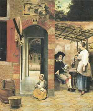 Dipinto di Pieter de Hooch