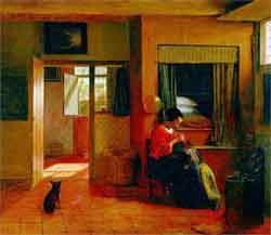 Pittura di Pieter de Hooch
