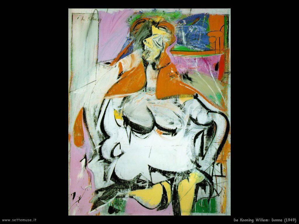 de_kooning_willem Donna (1949)