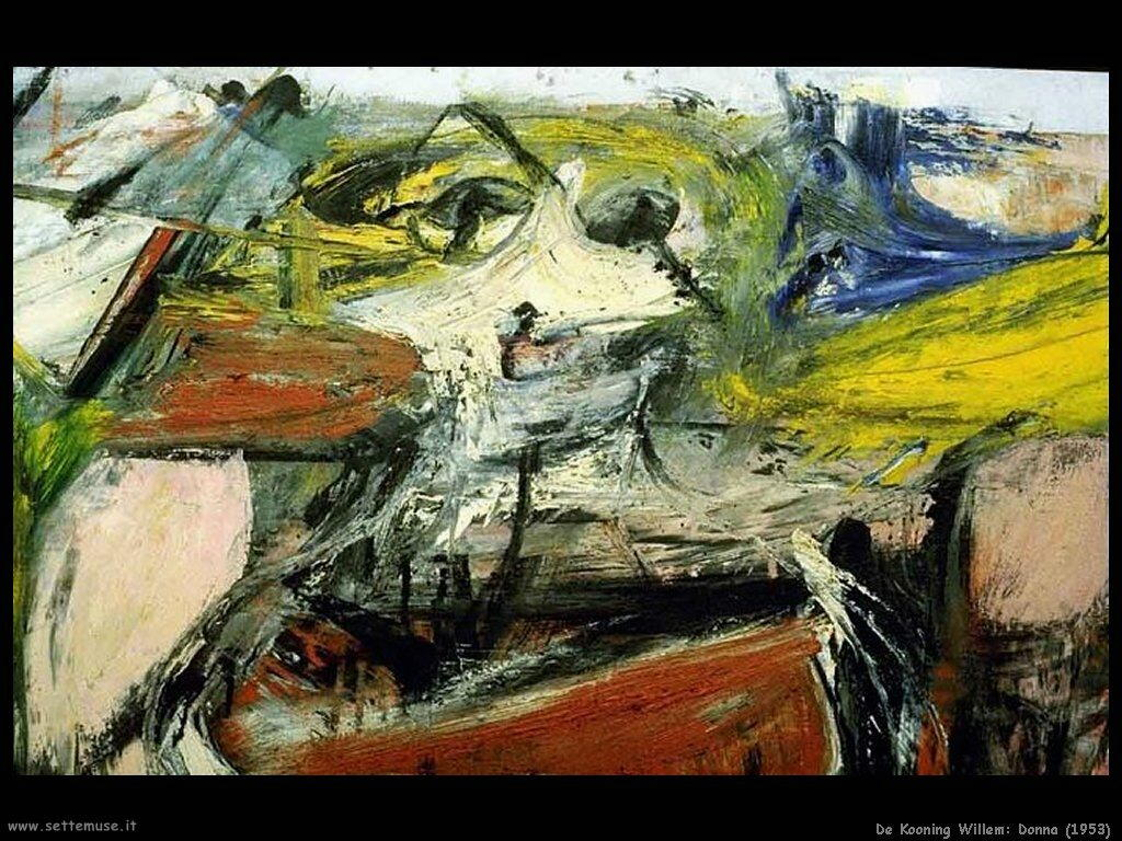 de_kooning_willem Donna (1953)