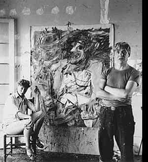 Laboratorio di Willem de Kooning