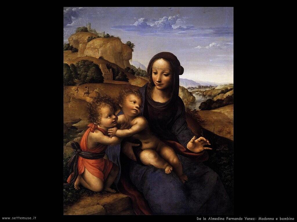 de la almedina fernando yanez Madonna col bambino