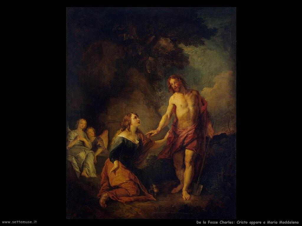 de la fosse charles Cristo appare a Maria Maddalena