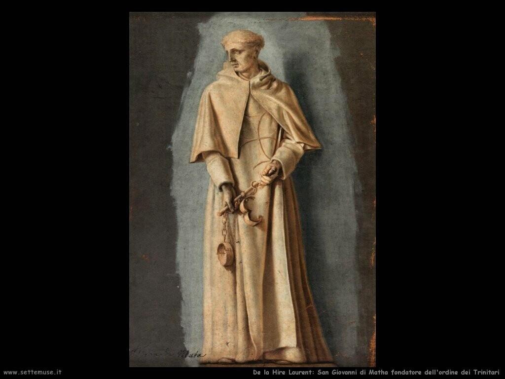 de la hire laurent  San Giovanni fondatore dell'ordine dei Trinitari