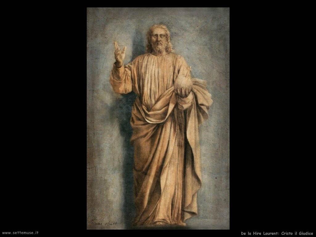 de la hire laurent  Cristo il giudice