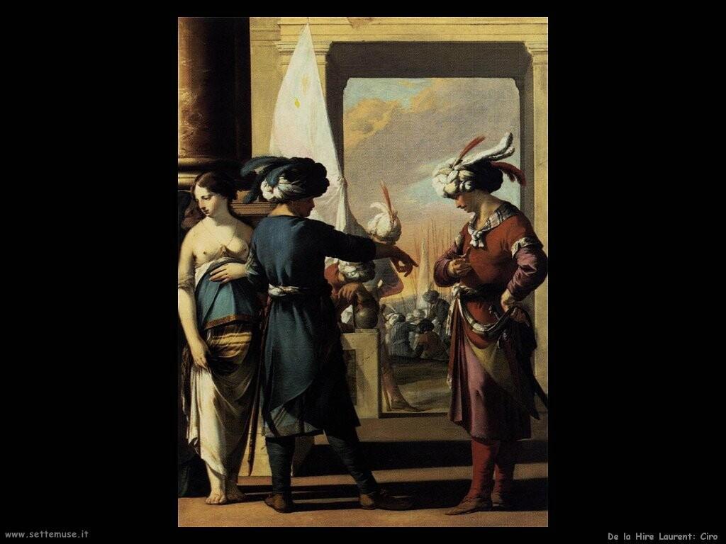 de la hire laurent   Ciro annuncia ad Araspas le scuse di Panthea