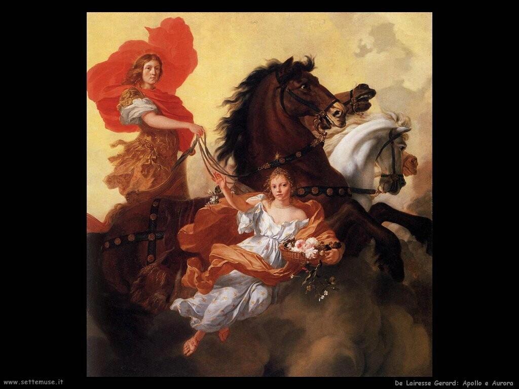 de lairesse gerard Apollo e Aurora