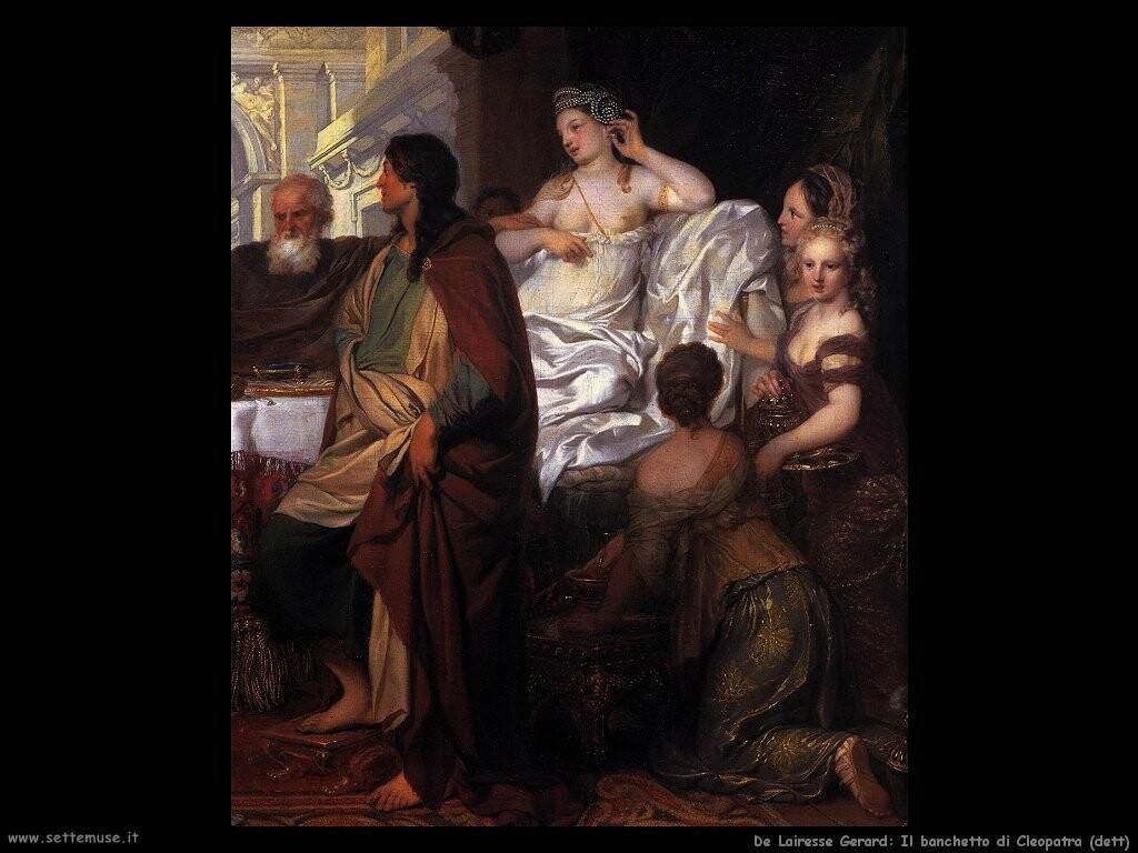 de lairesse gerard   Il banchetto di Cleopatra (dett)