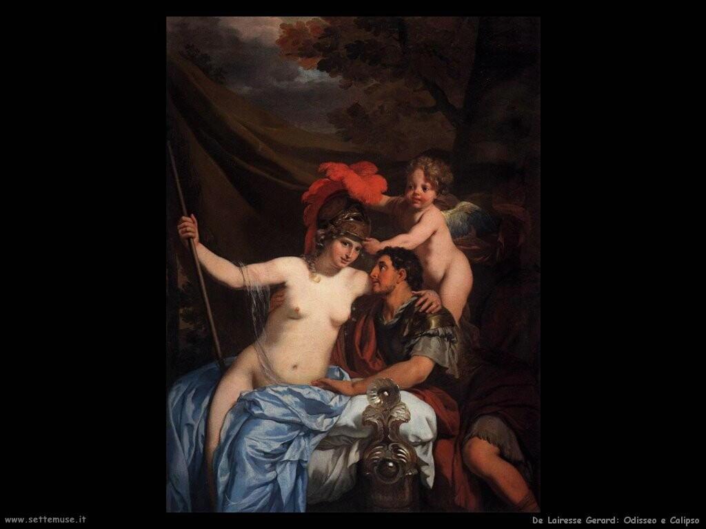 de lairesse gerard  Odisseo e Calipso