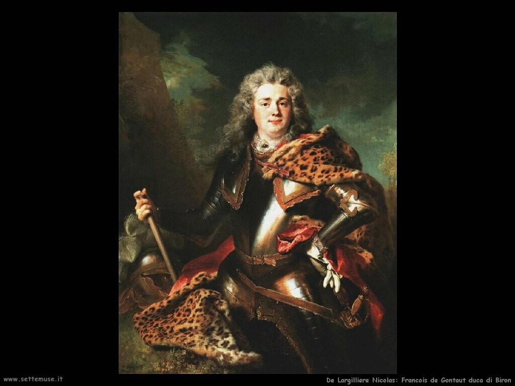 de largilliere nicolas Francois de Gontaut duca di Biron