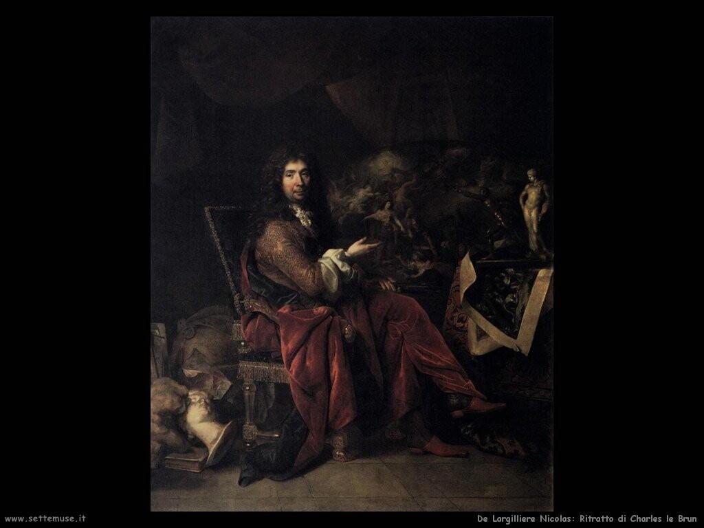 de largilliere nicolas Ritratto di Charles Le Brun