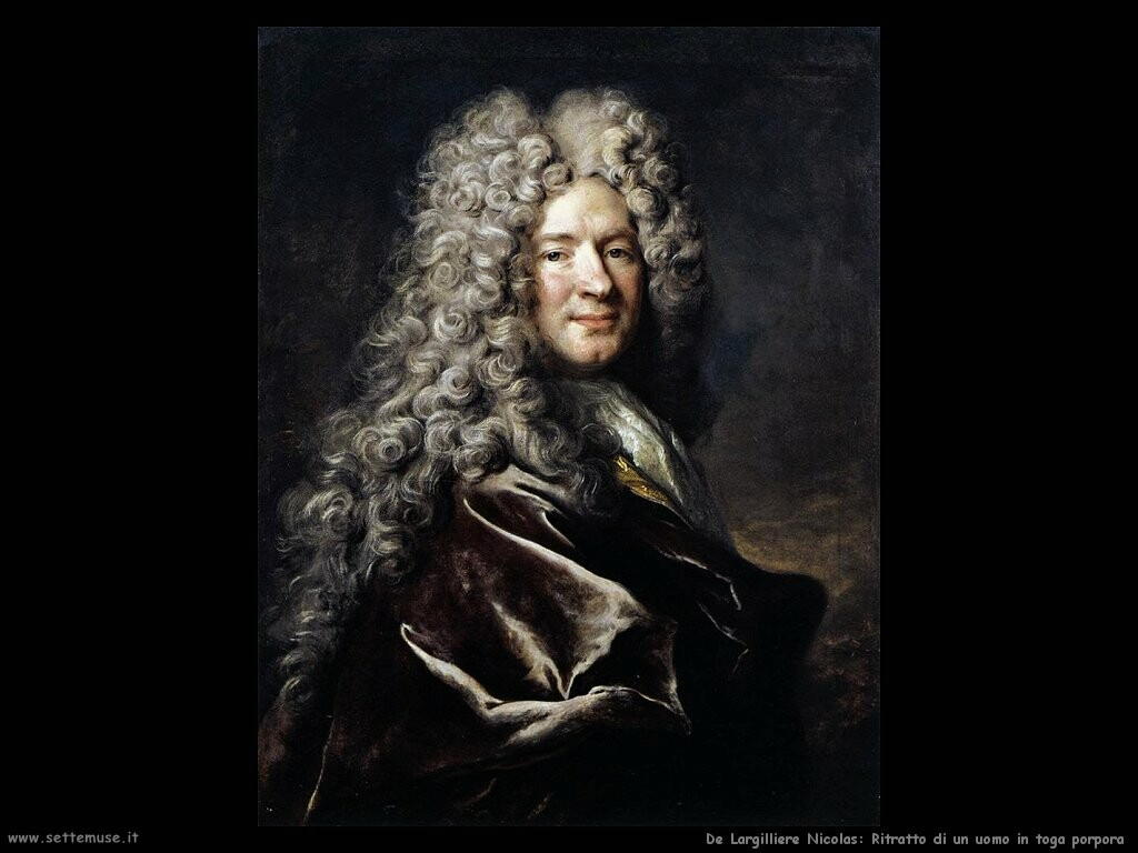 de largilliere nicolas Ritratto di un uomo in toga porpora