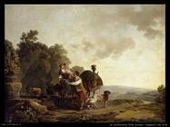 de loutherbourg philip jacques  Viandanti alla fonte