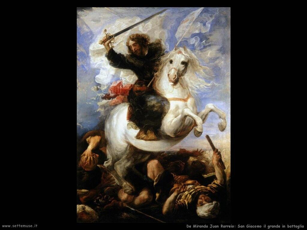 de miranda juan rarreio San Giacomo il grande in battaglia