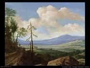 de molyn pieter Paesaggio panoramico collinare