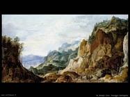 de momper joos  Paesaggio di montagna