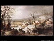 de momper joos Paesaggio invernale