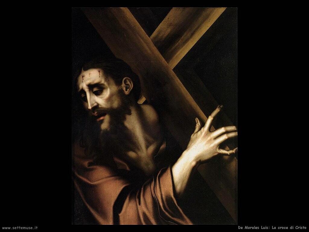 de morales luis  Cristo con la croce