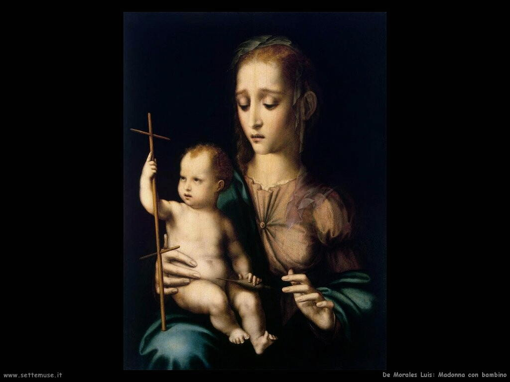 de morales luis Madonna con bambino