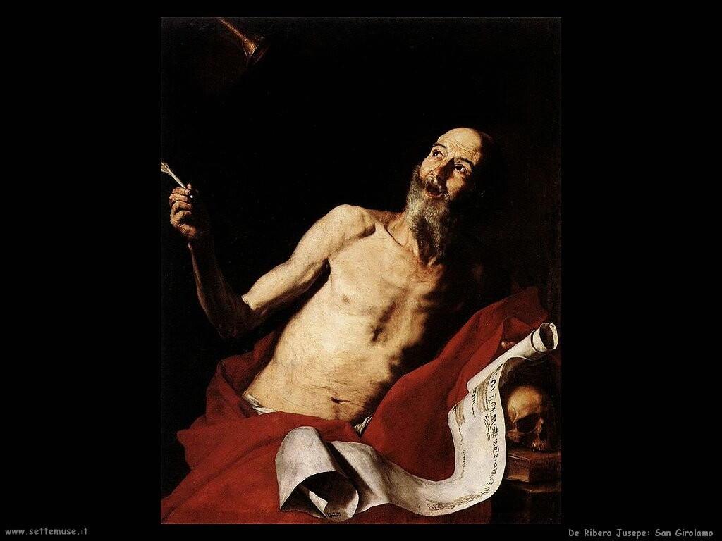 de ribera jusepe San Girolamoe