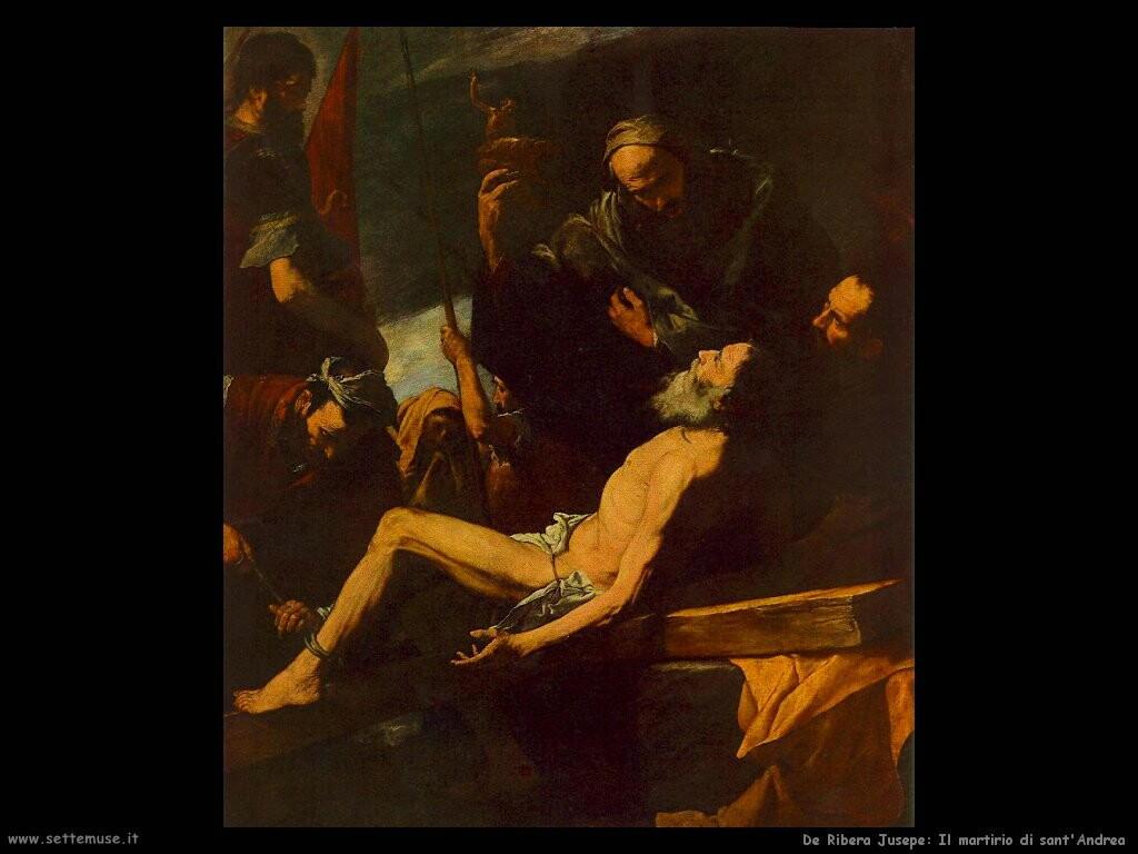 de ribera jusepe Il martirio di sant'Andrea