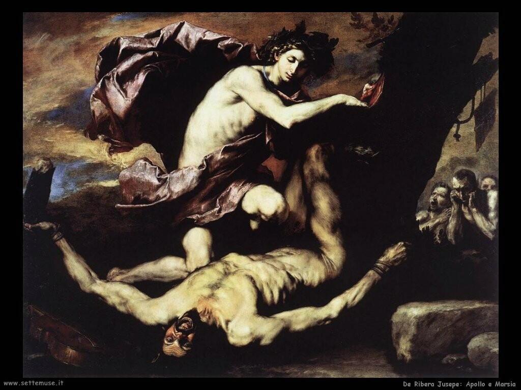 de ribera jusepe Apollo e Marsia