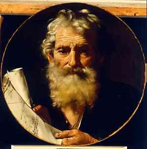 Autoritratto di De Ribera Jusepe detto Spagnoletto