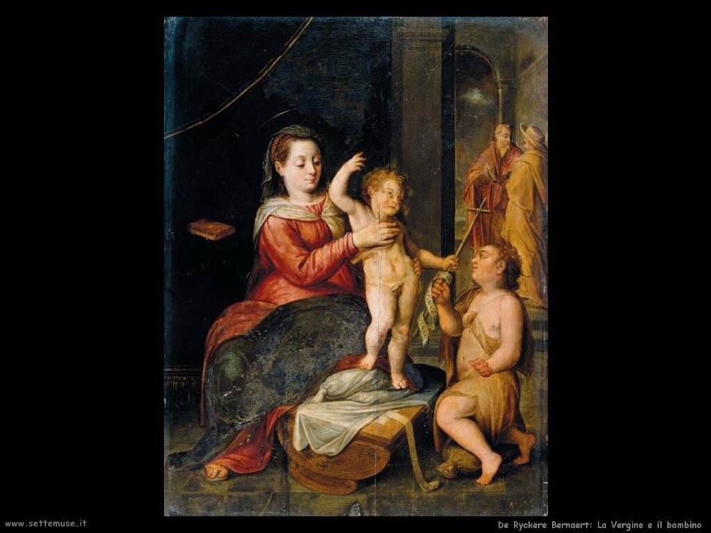 de ryckere bernaert  Vergine col bambino