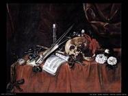 de saint andre renard  Vanitas natura morta