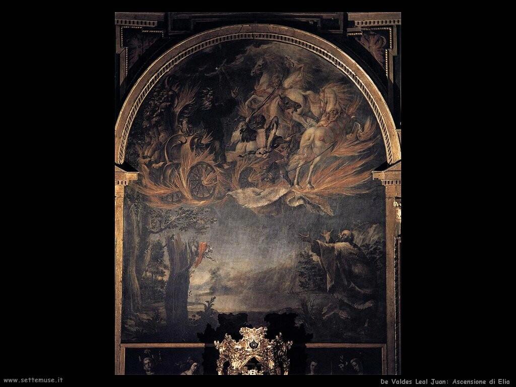 de valdes leal juan Ascensione di Elia