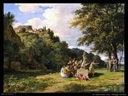 de valenciennes henri  Paesaggio arcadico