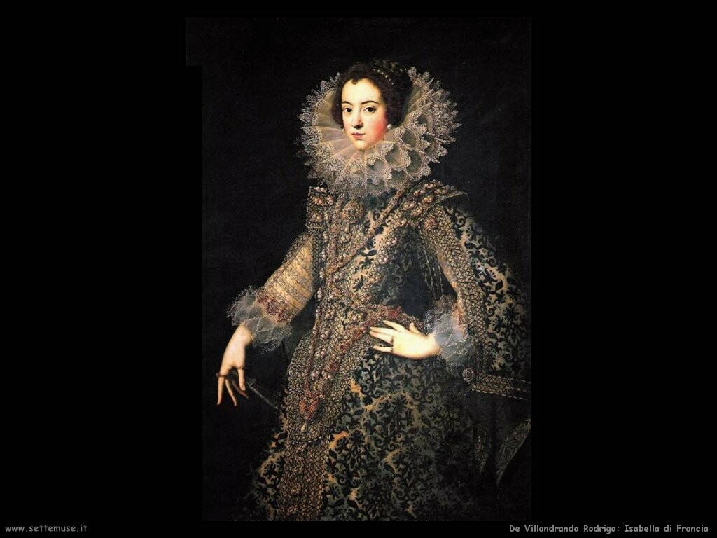 de villandrando rodrigo Isabella di Francia