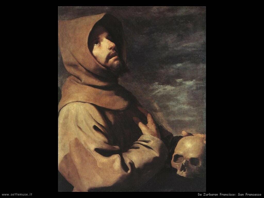 de zurbaran francisco San Francesco