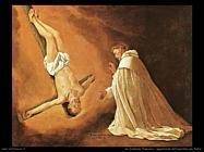 de zurbaran francisco  Apparizione dell'apostolo san Pietro