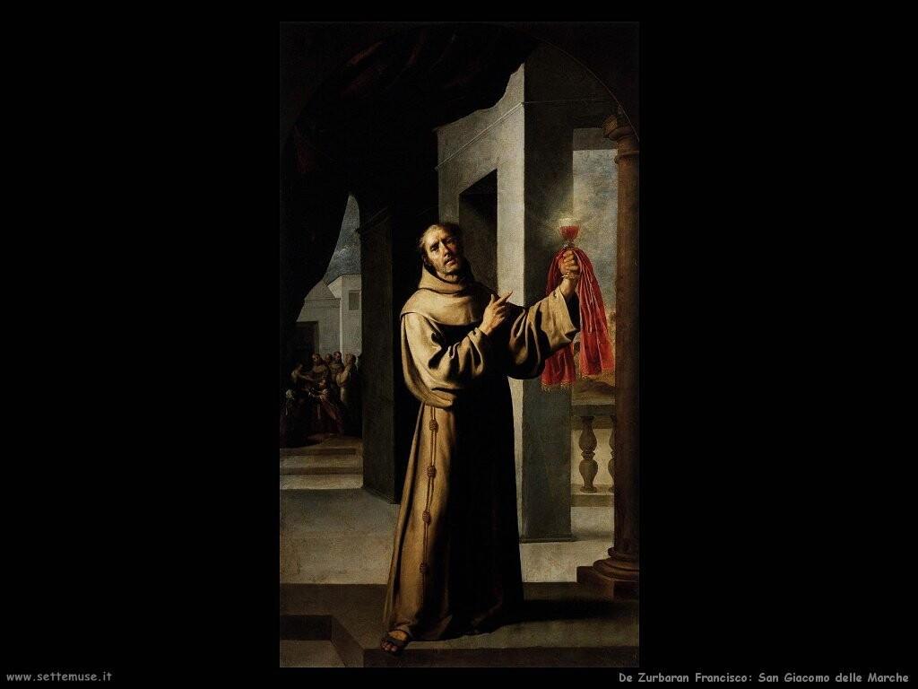 de zurbaran francisco San Giacomo delle Marche