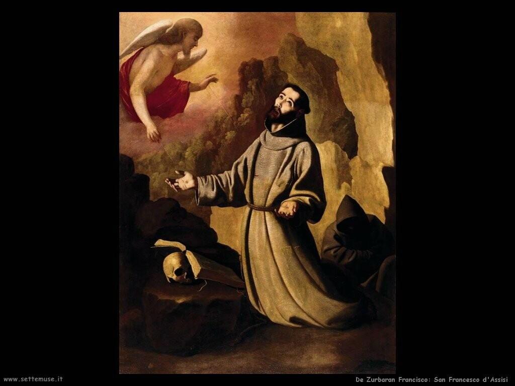 de zurbaran francisco  San Francesco d'Assisi