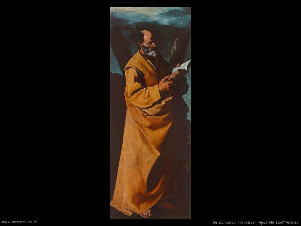 de zurbaran francisco Apostolo sant'Andrea