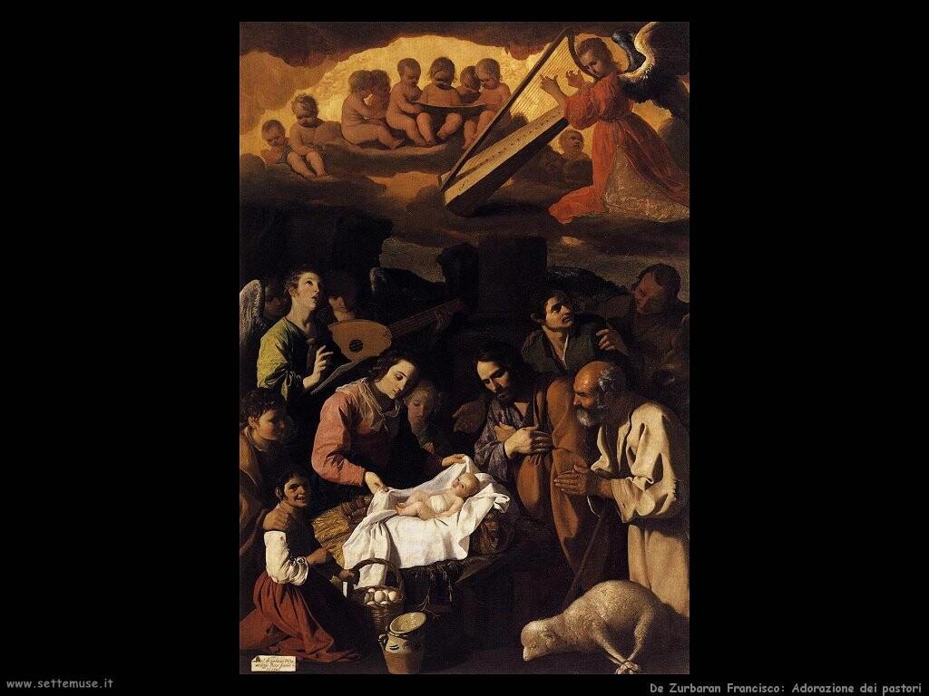 de zurbaran francisco  Adorazione dei pastori