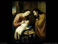 de zurbaran francisco Sacra famiglia