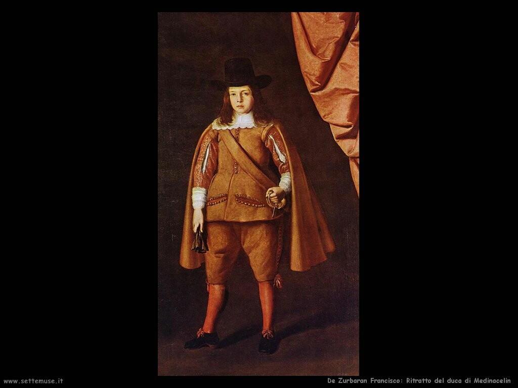 de zurbaran francisco Ritratto del duca di Medinacelin