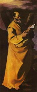 Opera di De Zurbaran Francisco