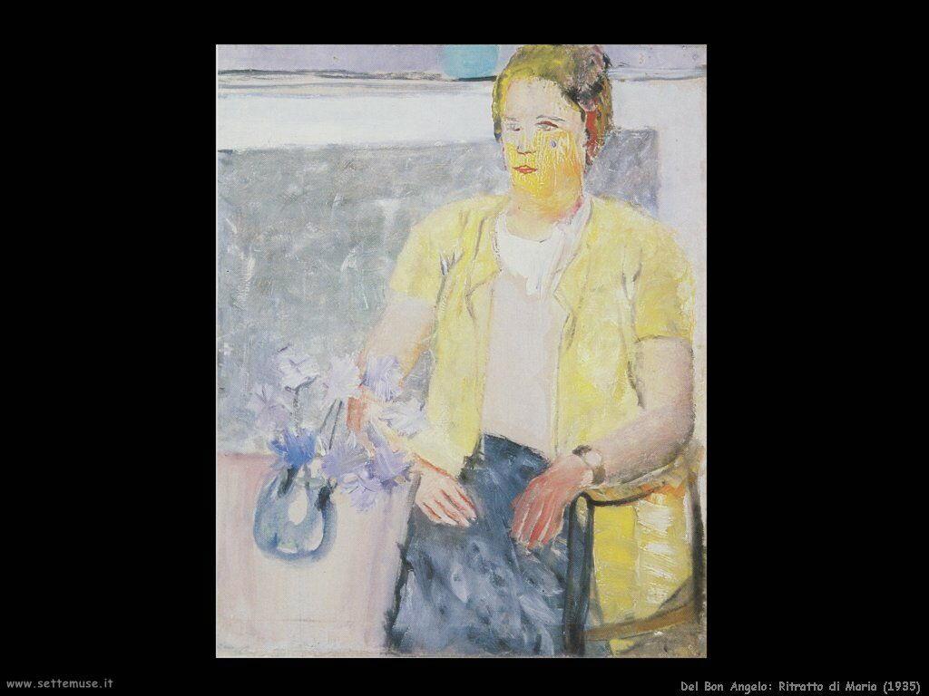 del_bon Ritratto di Maria (1935)