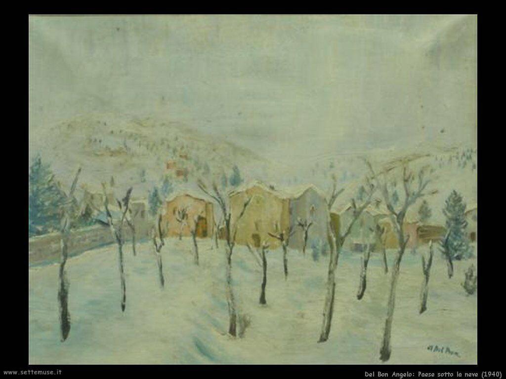 del_bon Paese sotto la neve (1940)
