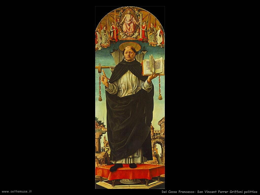del cossa francesco  San Vincenzo Ferrer