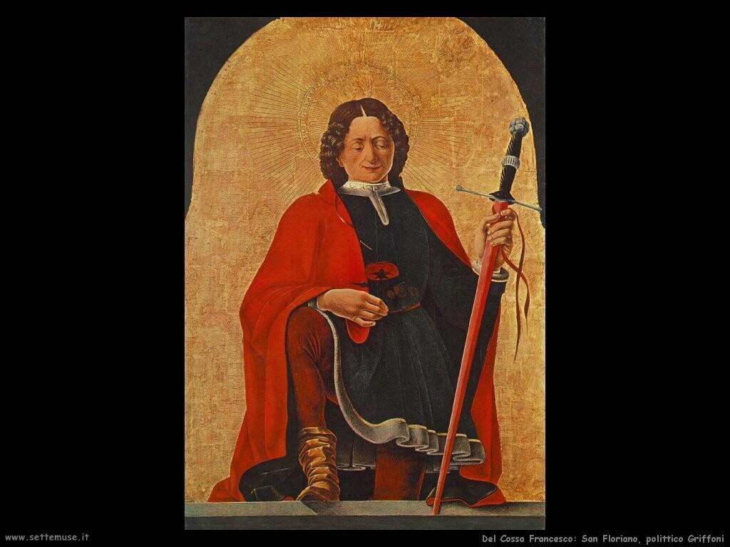 del cossa francesco San Floriano Politico Griffoni