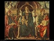 del cossa francesco Madonna con bambino e santi