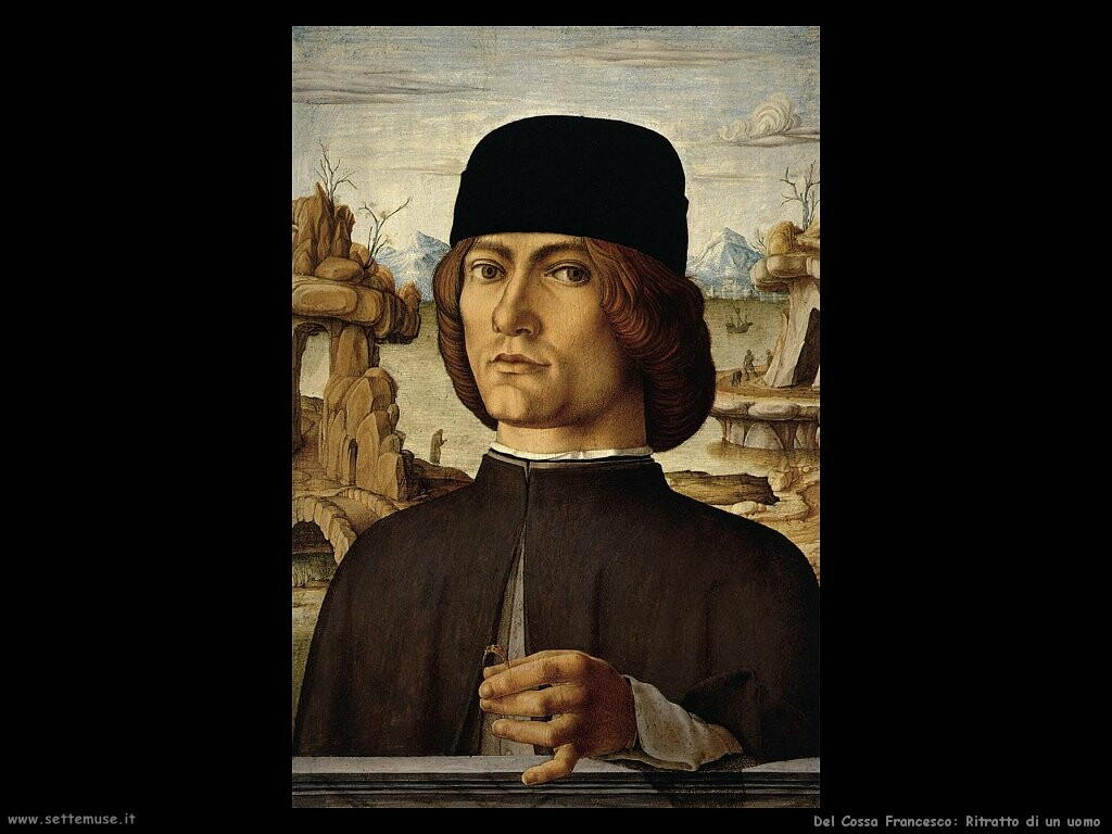 del cossa francesco Ritratto di un uomo